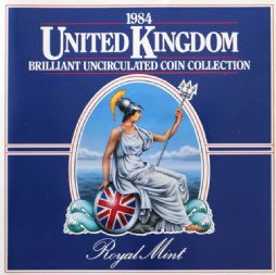 1984 Brilliant Uncirculated Coin Collection for sale